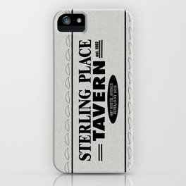 Sterling Place Tavern iPhone Case