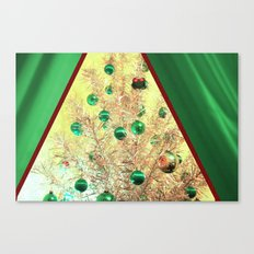 The View At Christmas Canvas Print