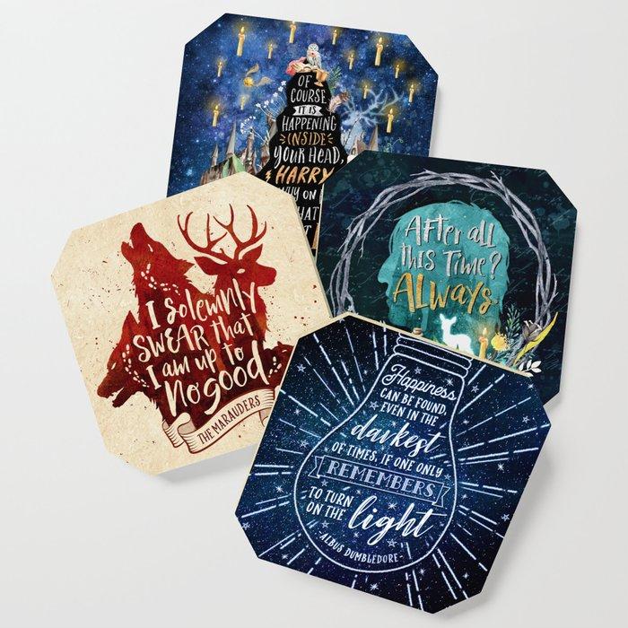 HP quotes coaster Coaster