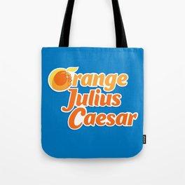 Orange Julius Caesar Tote Bag