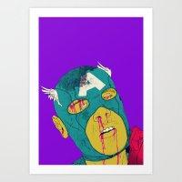 boneface Art Prints featuring Soc! by boneface