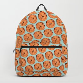 Cookies Pattern - Blue Backpack