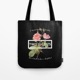 Harry Styles Two Ghosts graphic design Tote Bag