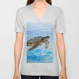 Turtle 1 Unisex V-Neck