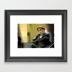 Sir . . You Missed Your Train > . . Framed Art Print