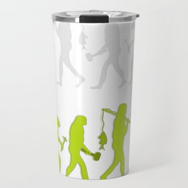 Evolution of Tennis Species Travel Mug