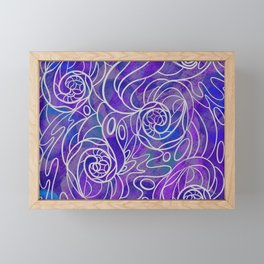 Spirals Framed Mini Art Print