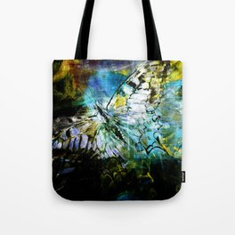 The birth of the butterfly Tote Bag