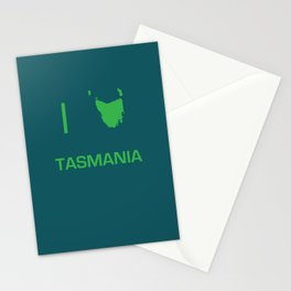 I heart Tasmania Stationery Cards