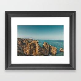 Ponta da Piedade, Algarve, Portugal III Framed Art Print