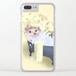 Little Sunshine Bubble Bath Clear iPhone Case