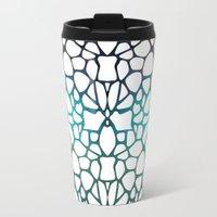 Abstract Net Travel Mug