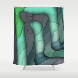 Elbow Room IV Shower Curtain