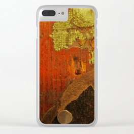 Painters Floorboard Clear iPhone Case