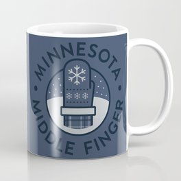 Minnesota Middle Finger Coffee Mug
