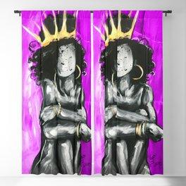 Naturally Queen IX PINK Blackout Curtain