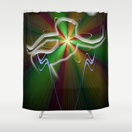 Full moon - Moments Shower Curtain
