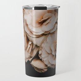 Begonia Flowers Travel Mug