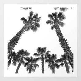 Palm Tree Laid Back Art Print {2 of 2} Art Print