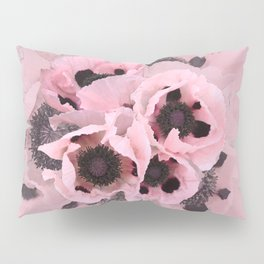 Poppies in the pink Pillow Sham