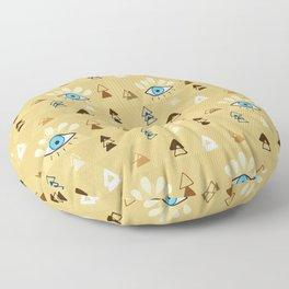 Eye Boho Style Pattern Floor Pillow