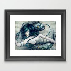 Zodiac Sign: Pisces Framed Art Print