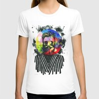 globe T-shirts featuring Hipster Globe by Psyca
