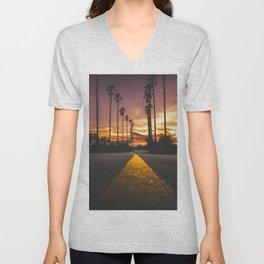 California Dreamin' Unisex V-Neck