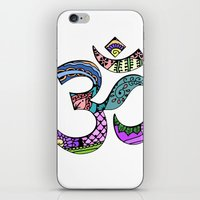 ohm iPhone & iPod Skins featuring Ohm by Ilse S