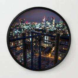London bokeh Wall Clock