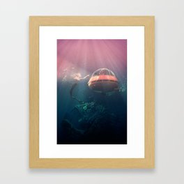 Trapped Framed Art Print
