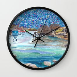 In the Cove Wall Clock