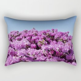 """View of """"Mount Rhodendron"""" on a clear day Rectangular Pillow"""