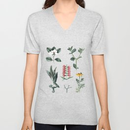 Spring Bloom Unisex V-Neck