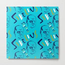 Jean Sibelius (3) Metal Print