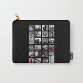 London Squares Carry-All Pouch