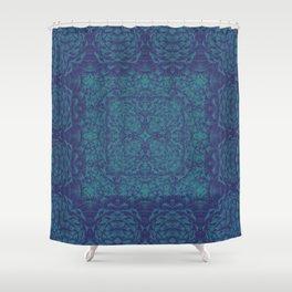 Pinecones art  Shower Curtain