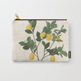 Lemon Branches II Carry-All Pouch