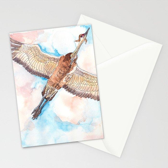 Test Flight Stationery Cards