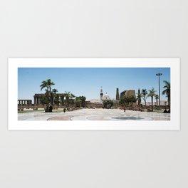 Temple of Luxor, no. 19 Art Print