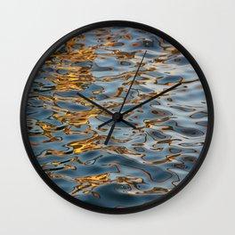 Abstract Water Wall Clock