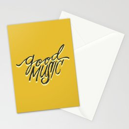 Good music Stationery Cards