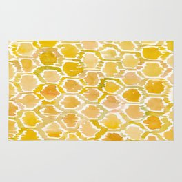 Golden Honeycomb Rug
