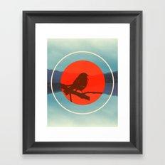Bird Call Framed Art Print