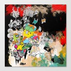 happy world Canvas Print