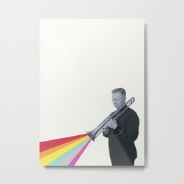 The Colour of Music Metal Print