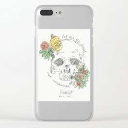 Hamlet my boy Clear iPhone Case