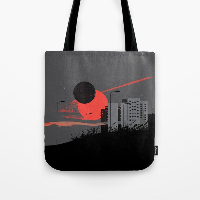 apocalypse city Tote Bag