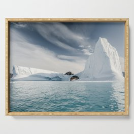 Fine Art Photography Print - Arctic Seas Serving Tray