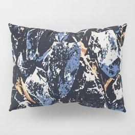 Blue stones Pillow Sham